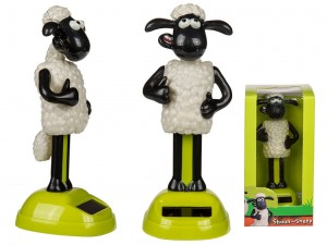 FIGURKA SOLARNA AARDMAN - SHAUN THE SHEEP BARANEK
