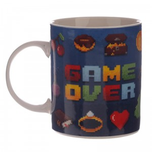 KUBEK FANA GIER Retro Game Over STARE GIERKI 350ML