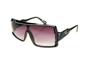 84f2de5161584 Okulary przeciwsłoneczne ciemne Reflexx Visions czarne