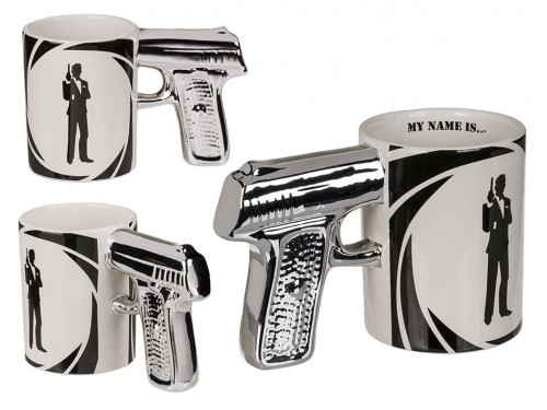 KUBEK PISTOLET tajny agent JAMES BOND MY NAME IS.. .jpg