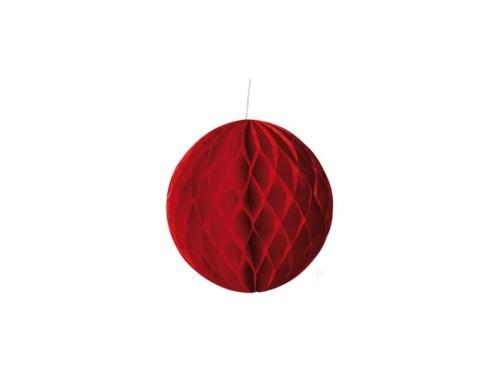 Kula Dekoracyjna Pompon Rozety Papierowe Kolorowe